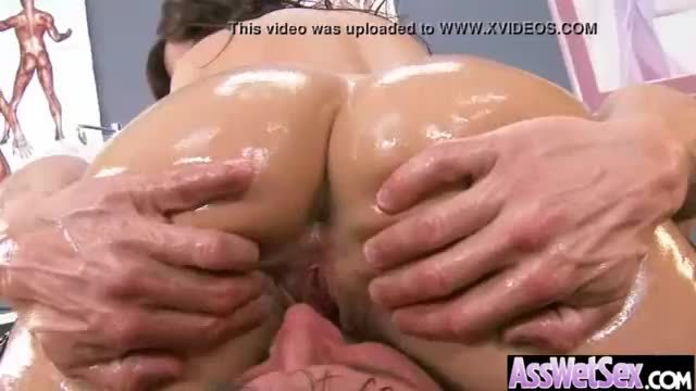 Round sexy butt girl get hard anal bang on cam clip-21